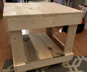 Wooden Table Project