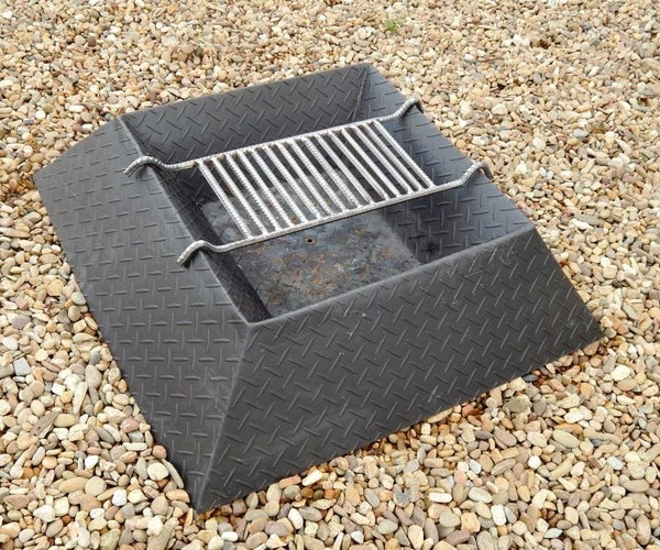 Make a Grill for Your Fire Pit