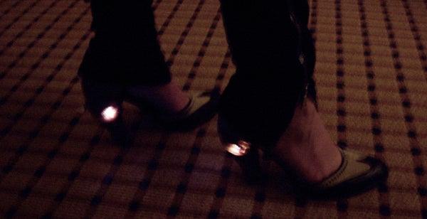 Rodarte-Style Light Up Shoes