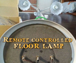 Remote Controlled Floor Lamp