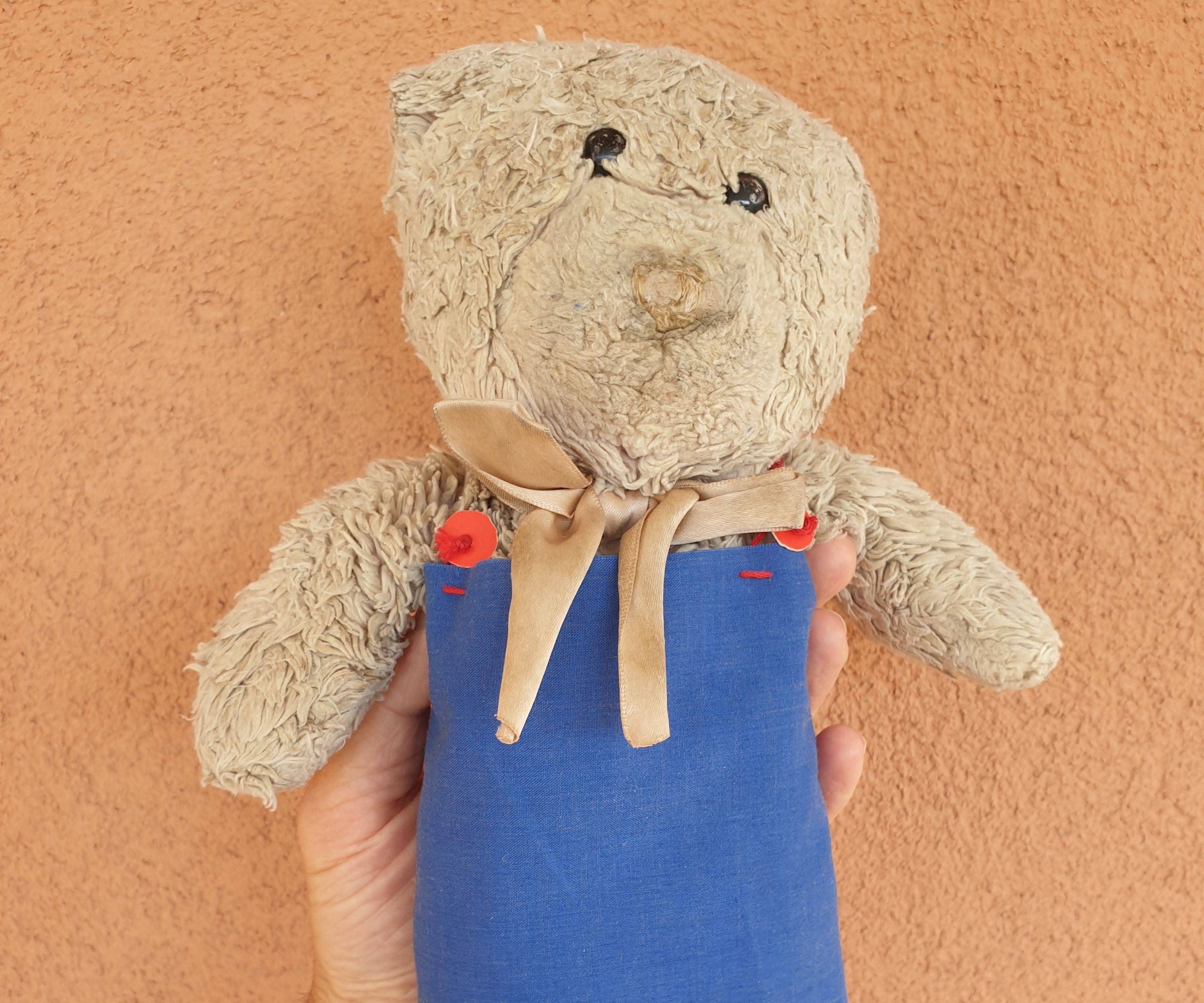How to Make a Simple Dress for a Doll or Teddy Bear
