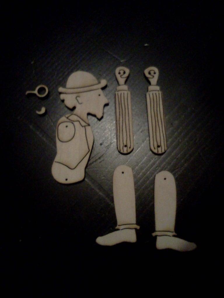 1. Body Parts: