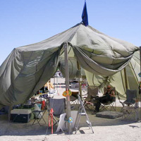 Parachute Dome Tent
