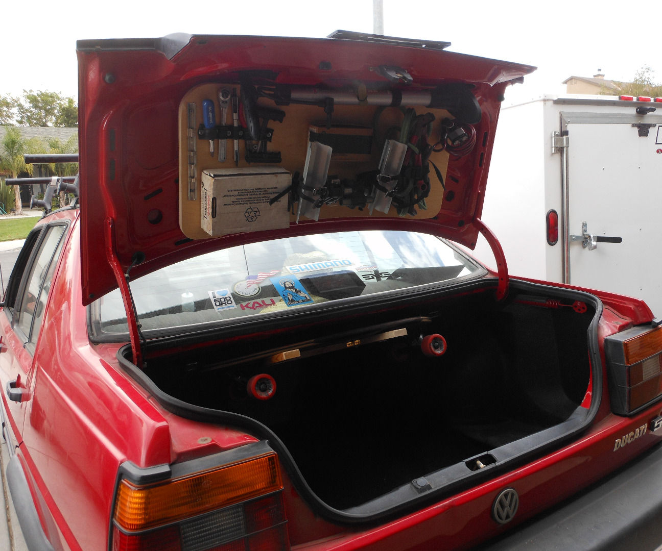 The Trunk Rack