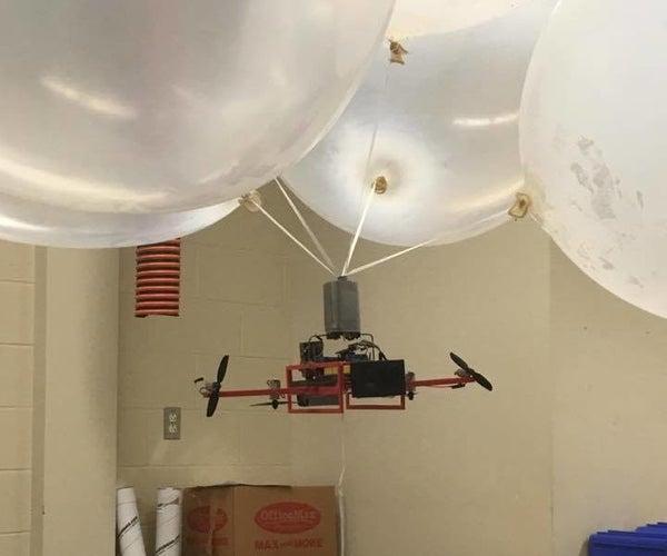 3D Printed Robotic Blimp - It Flies, I Guess?