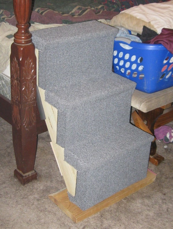 Dog Stairs for Bed (take 1)