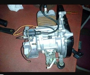 2 Stroke Engine Rebuild Plus Governor Removal
