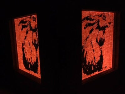 Bunny Box LED Light Cover