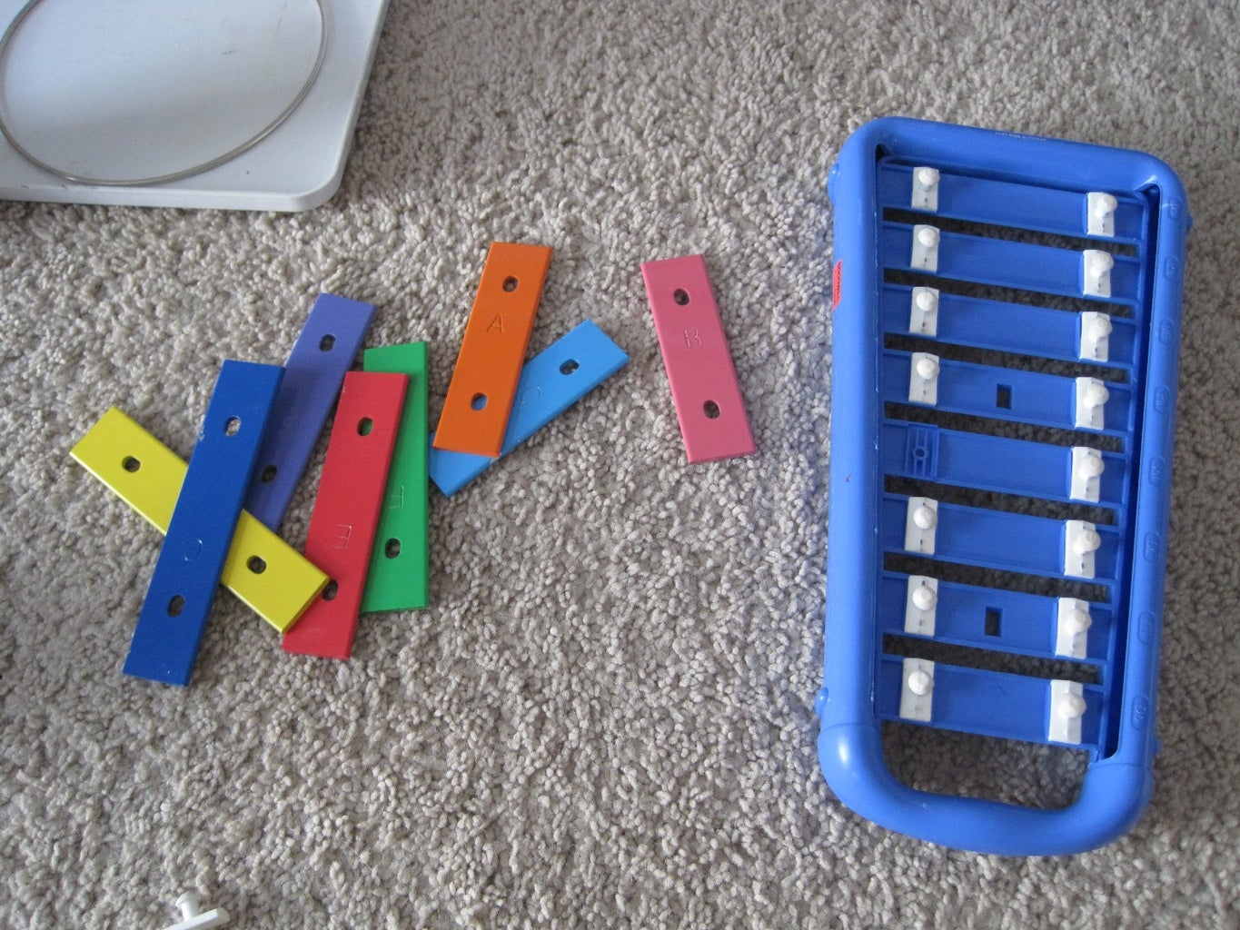 Disassemble the Xylophone
