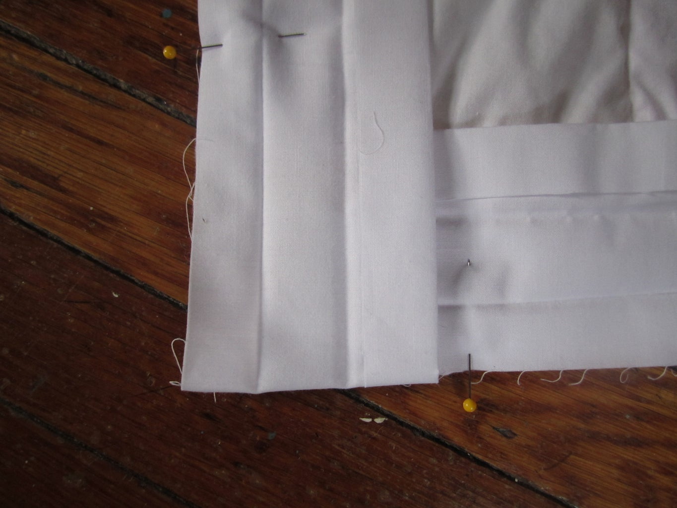 Pinning the Binding to Your Quilt.