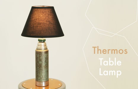 Thermos Lamp