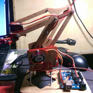 Pocket Sized Robot Arm MeArm V0.4
