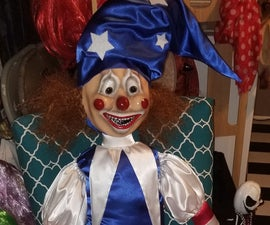 The Clown Doll From Poltergeist Movie Prop