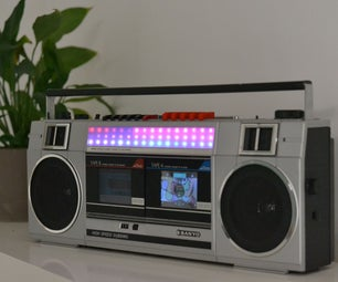 Remodeled 80s Boombox