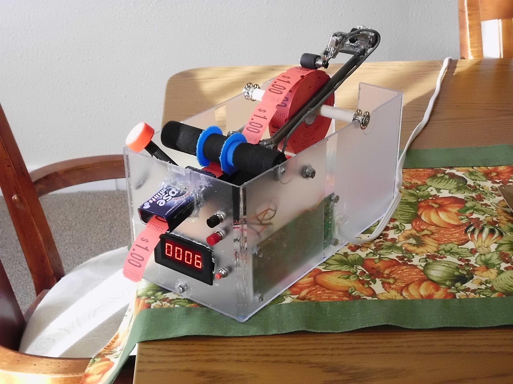 Mechanical Ticket Dispenser