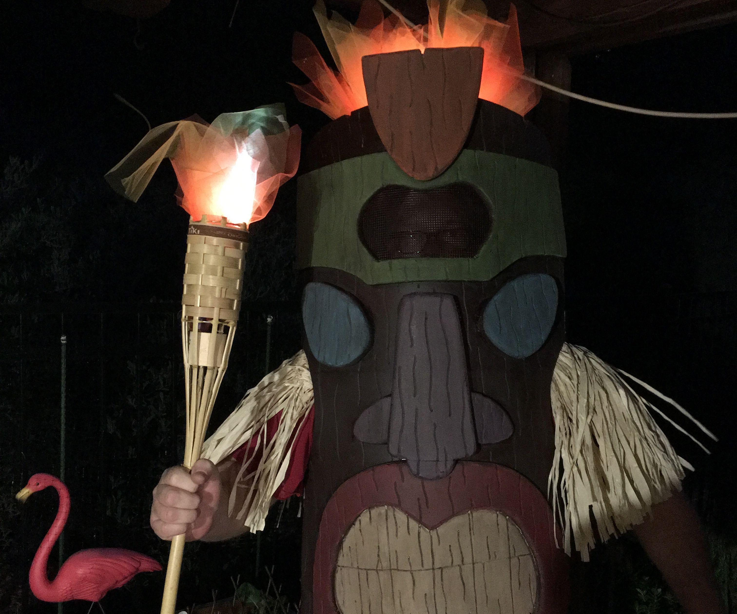 EVA Foam Tiki God Costume Remix Contest