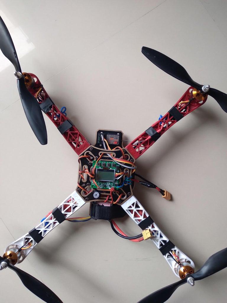 F450 Quadcopter Using KK 2.1.5 Easy