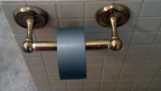 Duct Tape Toilet Paper