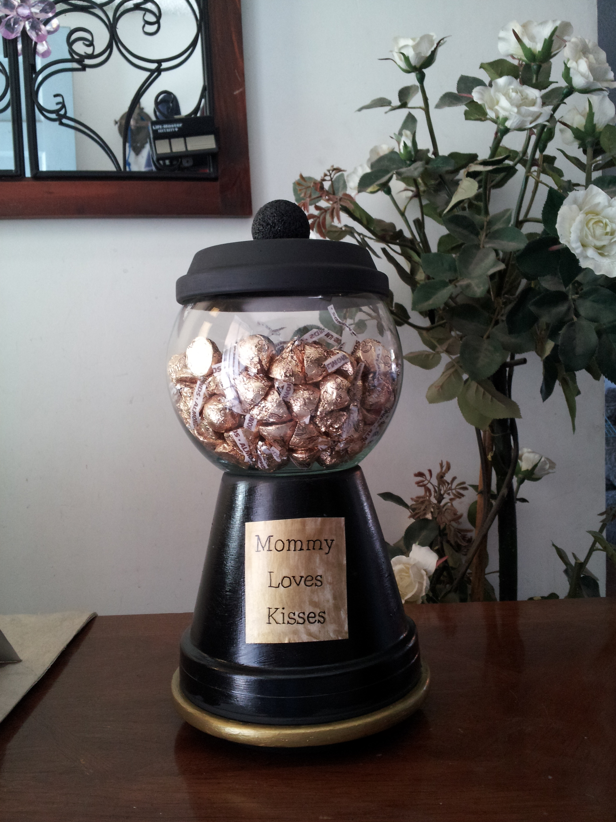 Terra Cotta Pots?? - Gumball Machine Candy Jar