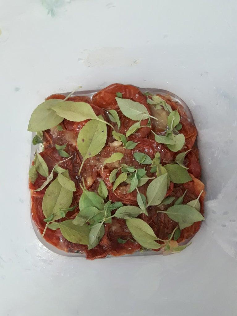 Microwave Dried Tomatoes