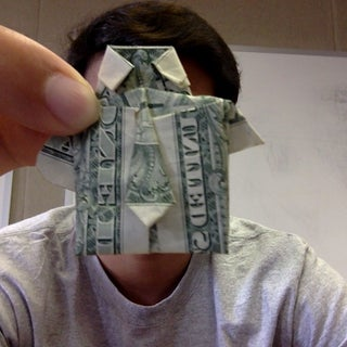 Dollar Bill Origami- Shirt and Tie