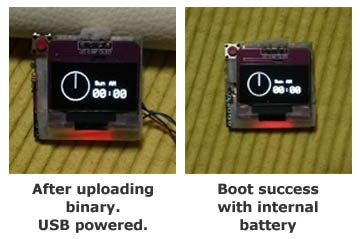 Compile Arduino Source for Watch and Upload.