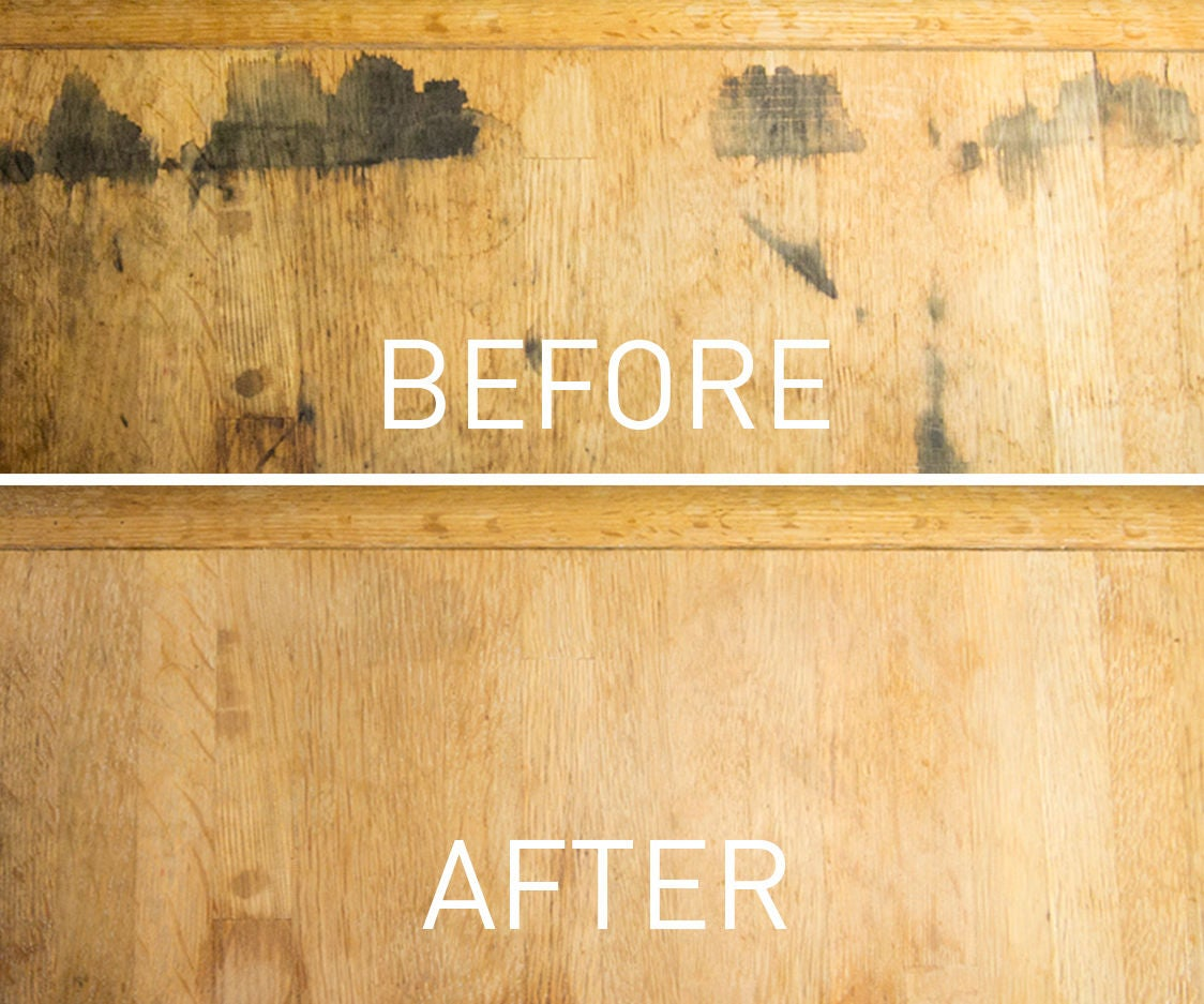 Removing Black Stains In Wood Furniture With Oxalic Acid 6 Steps Pictures Instructables - How To Stain A Wooden Table Black