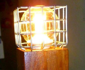 Industrial-style Minecraft torch
