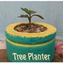 Concrete Tree Planter