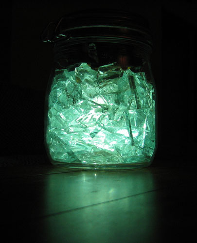 Solar LED Light Jar        rev 1.5