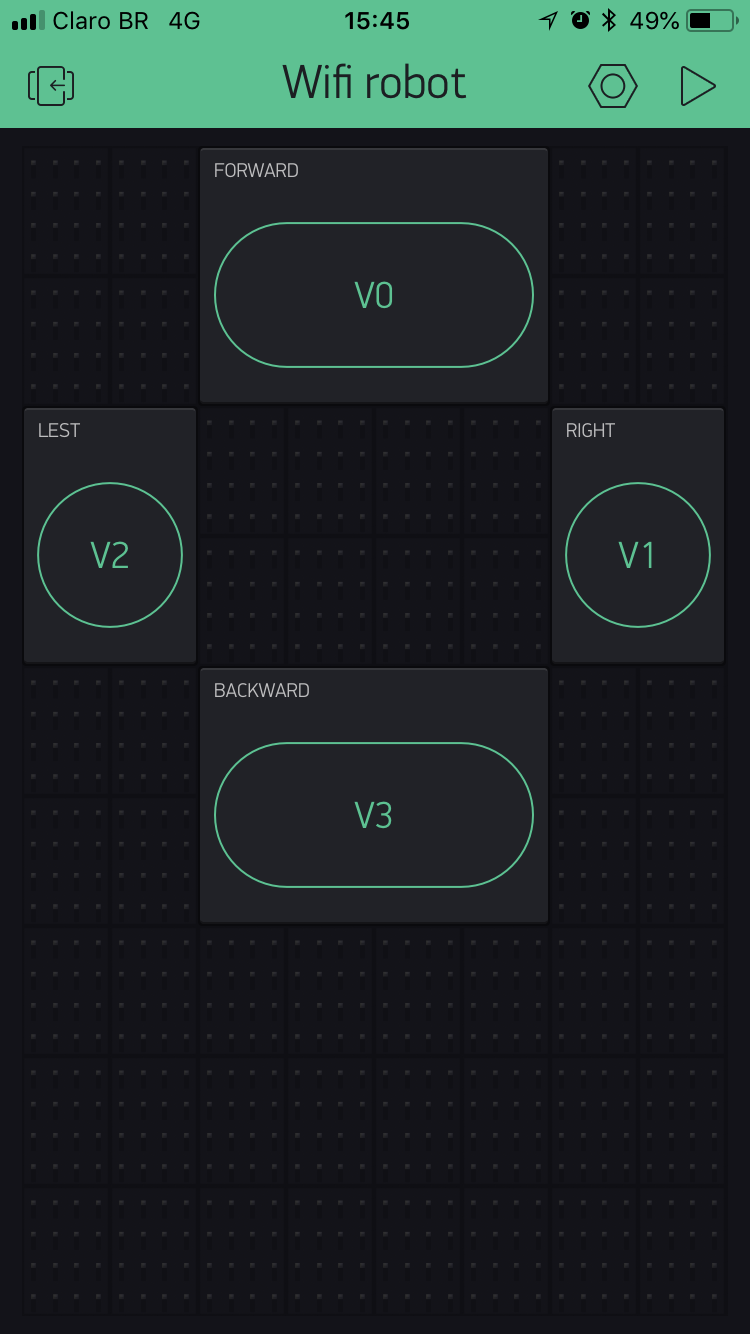Blynk App #1 - Four Buttons