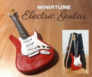 Miniature Electric Guitar