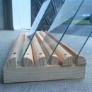 Make A Wooden Photographic Plate Rack