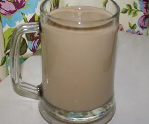 Cold Coffee With All Recycled Equipment. Cheap Cheap Cheap