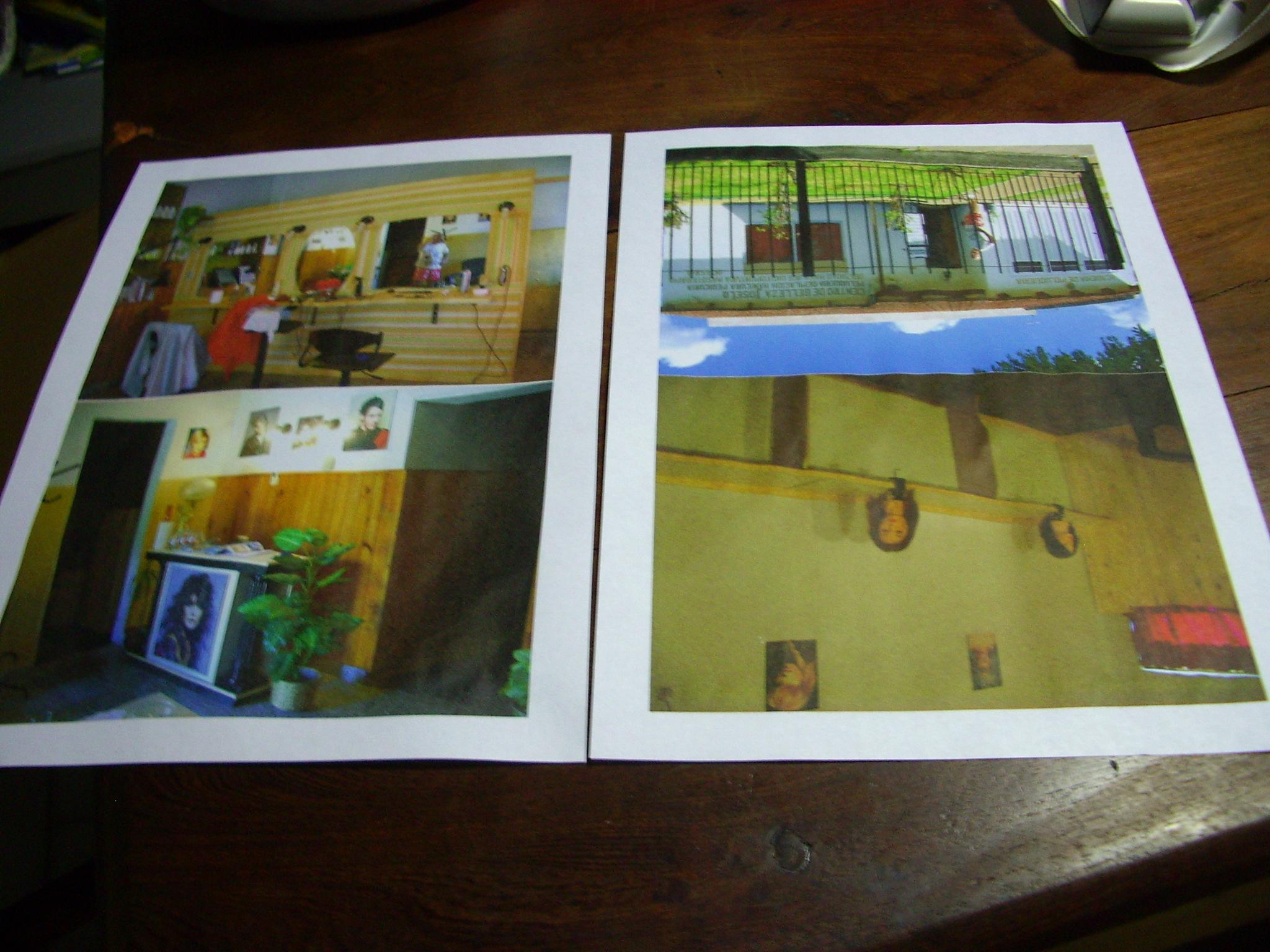 Cheap enhancement of printed photos
