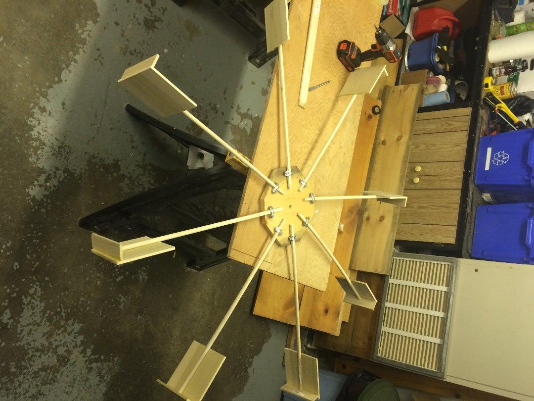 Building the Waterwheel