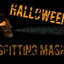 Halloween spitting mask prank