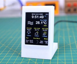 ESP8266 Weather Widget V2.0