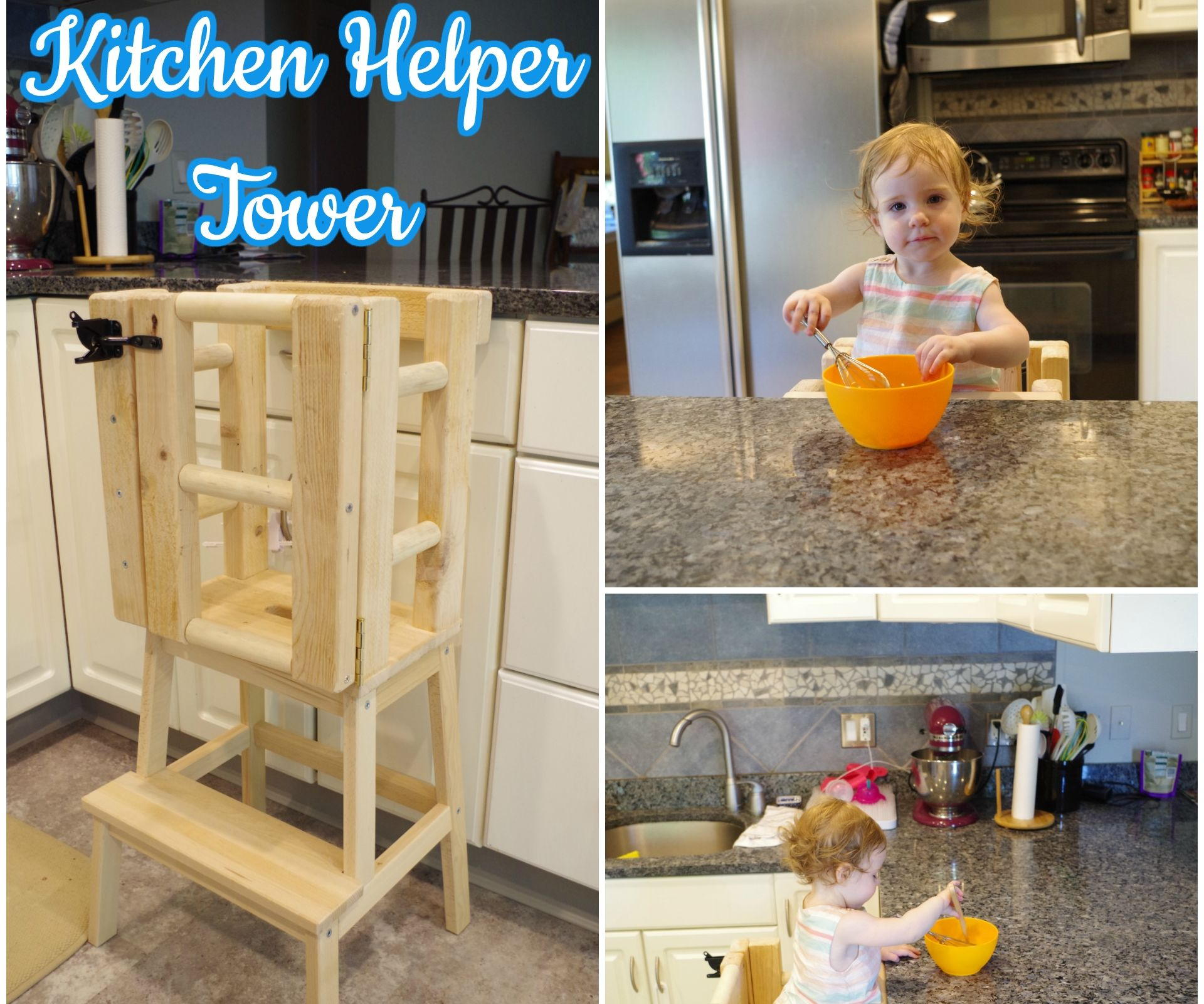 Kitchen Helper Tower 8 Steps With Pictures Instructables