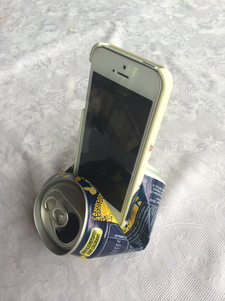 Soda Can Iphone Stand