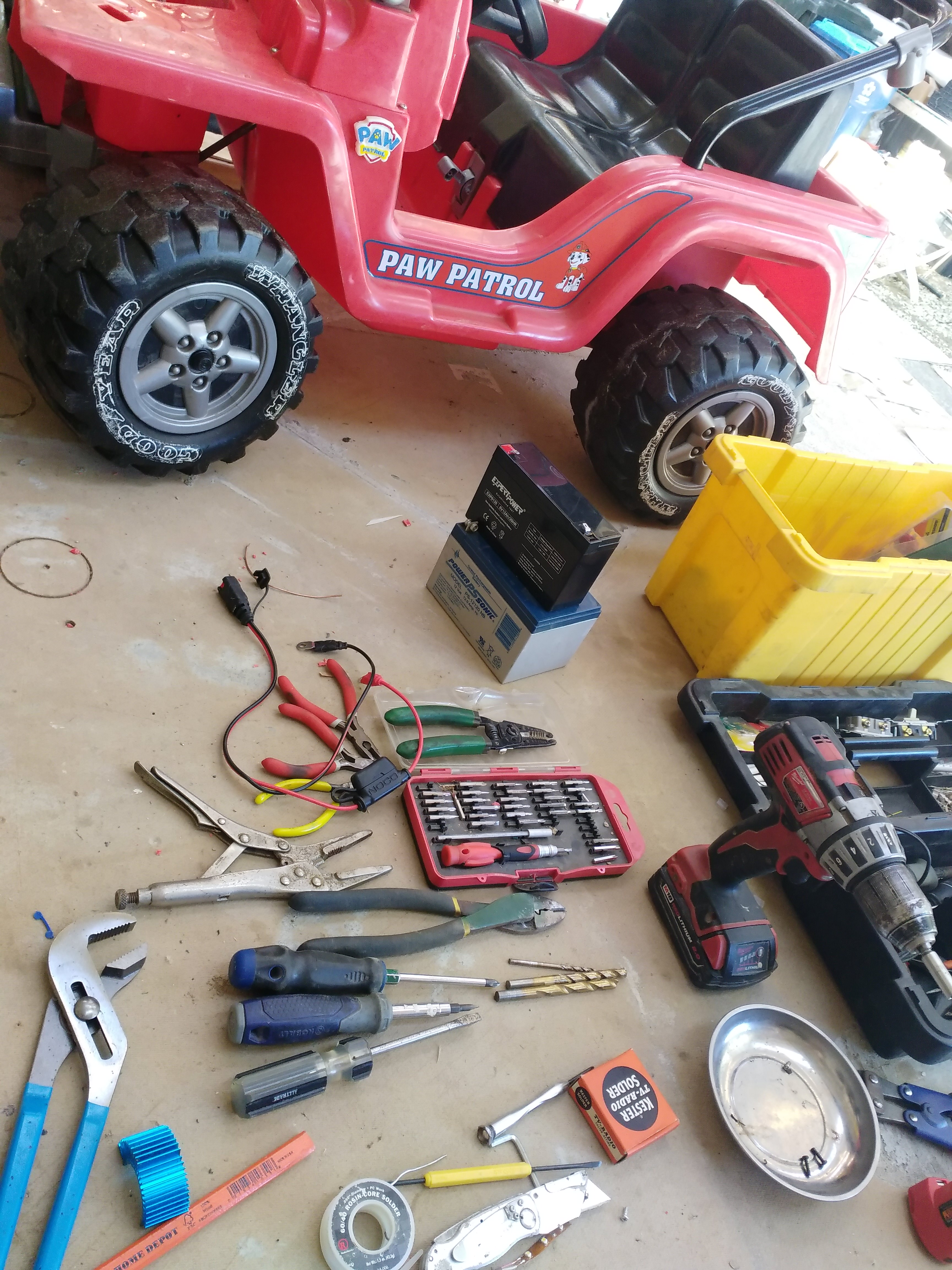 Basic 18v Speed Upgrade For 12v Power Wheels 4 Steps With Pictures Instructables