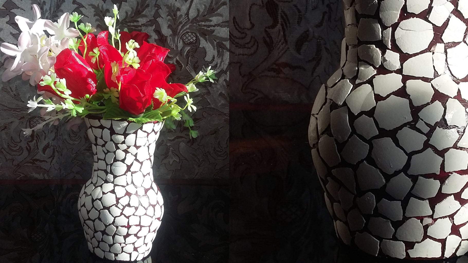 How to Decorate Eggshell Vase