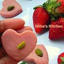 Strawberry Milk Peda | Paalkova | South Indian Delicacy