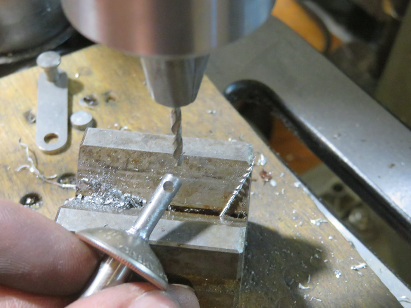 Drill the Key-ring Hole