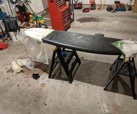How to Custom Paint a Foam Surfboard