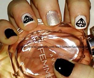 Diamond Nail Art Tutorial   Samantha Beauty