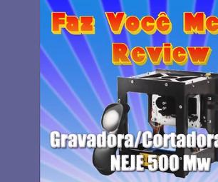 Neje Micro Engraver; Unpacking, Installing, Verdict. Micro-gravadora Laser Neje, Dicas E Anàlise