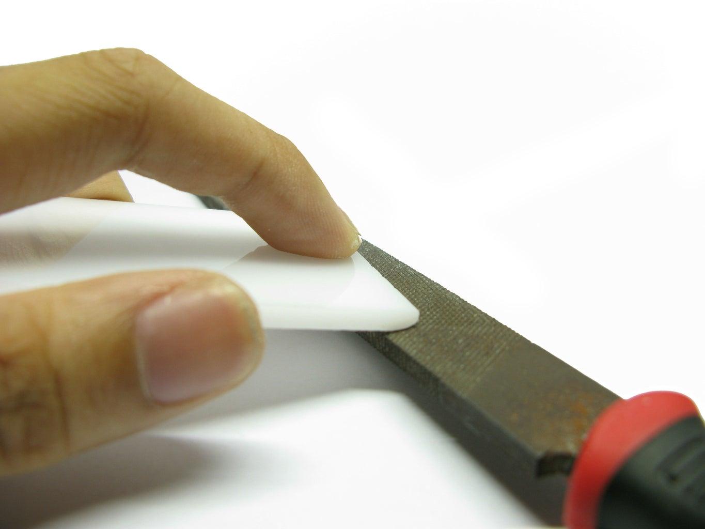 Preparing the Acrylic Diffuser