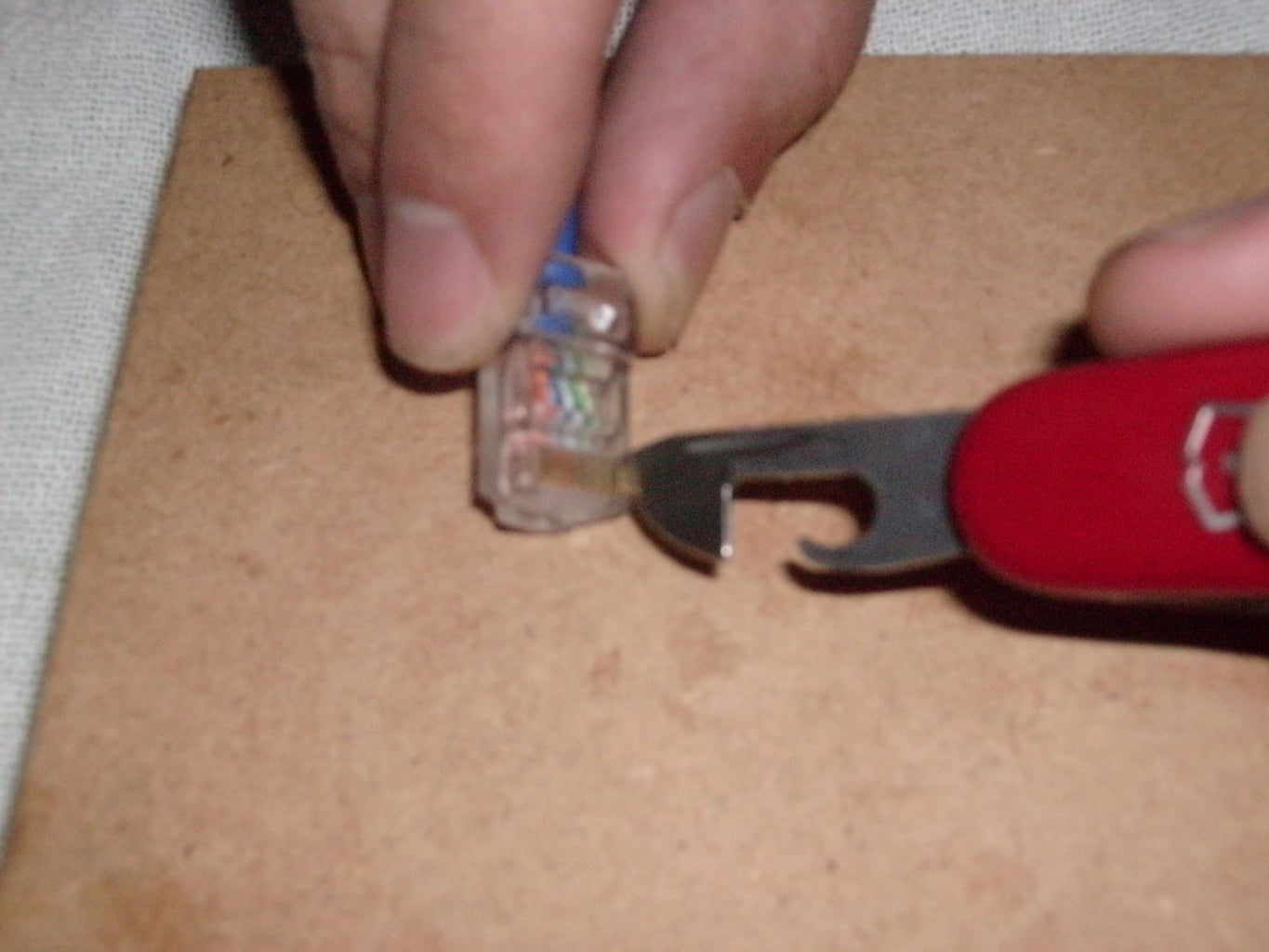 Step Five: Crimping the Cable
