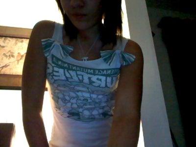 Transform a T-shirt Into a Cute Tank Top